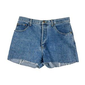 Vintage High Waisted Denim Shorts Retro 90s